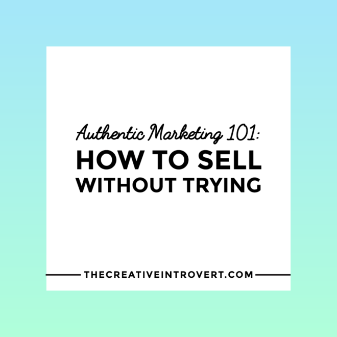 How to authentically market your business - without feeling like a sleazy car salesman!