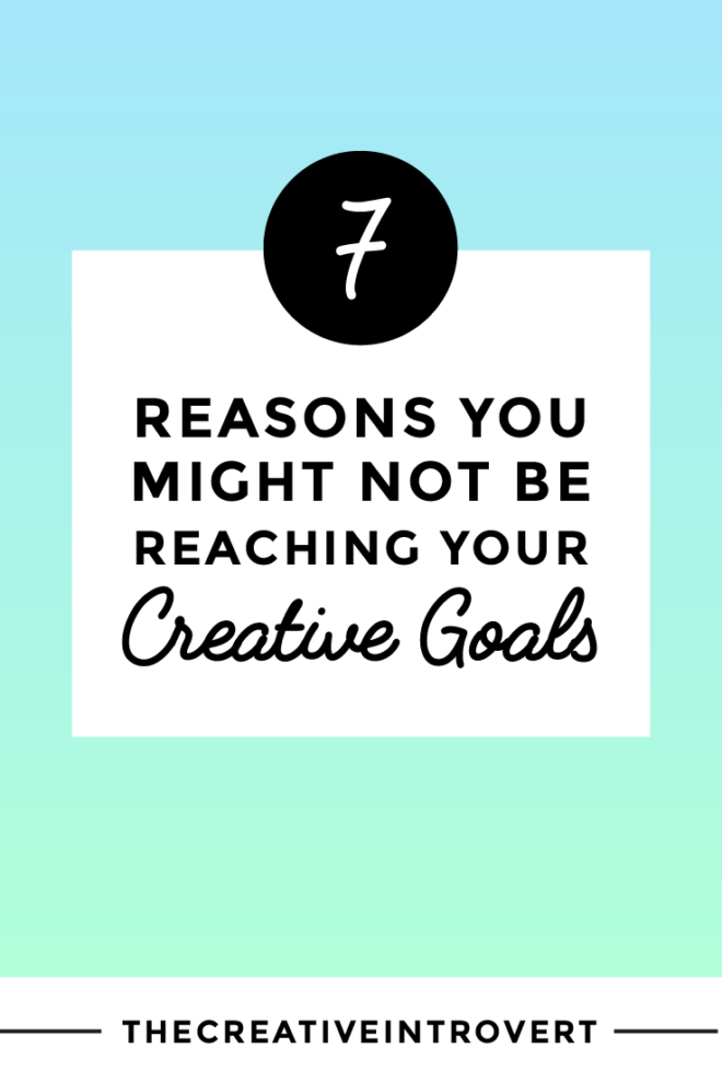 Why don't we reach our goals? Here are 7 tips for creatives >>