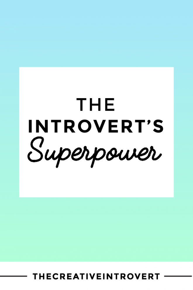 What is the introvert's superpower? Find out how to master it >>