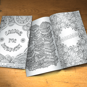 Colouring Book For Creative Introverts