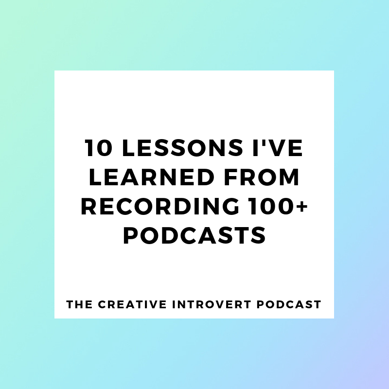 Lessons from podcasts