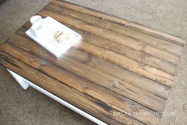 DIY Plank Table