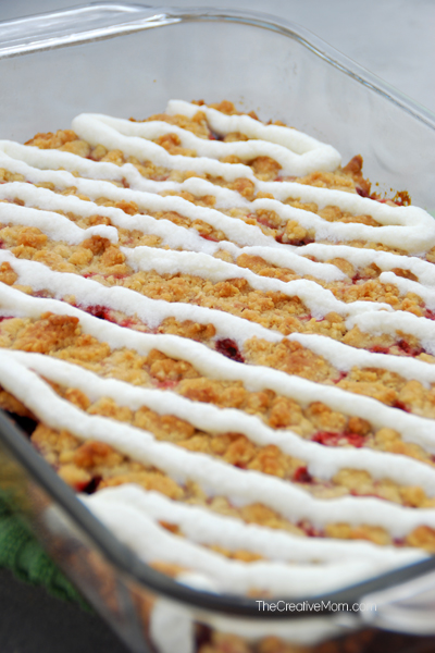 Strawberrry Crumb Bars Recipe