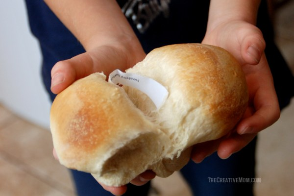 how to make thankful rolls