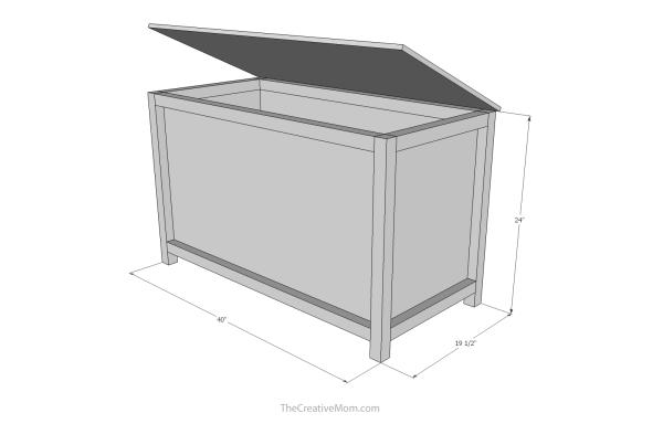 toy chest building plans