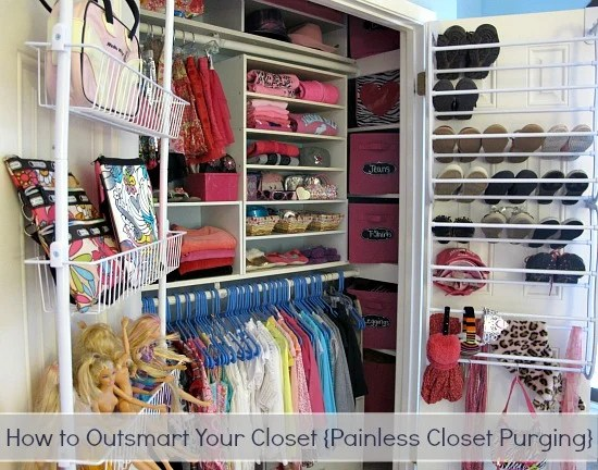 How To Outsmart, Purge And Organize A Closet Painlessly
