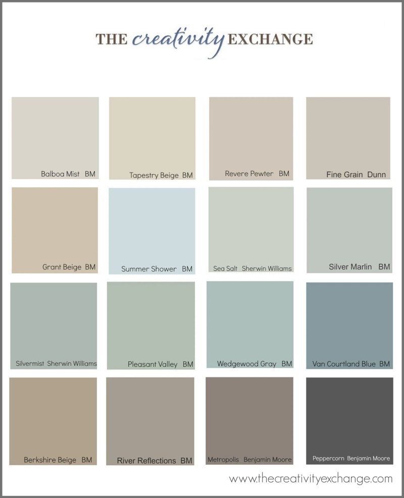 Benjamin Moore Paint Colors Interior