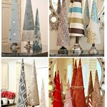 Poster Board Christmas Tree Cones