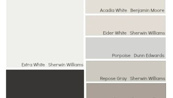 exterior white paintTips and Tricks for Choosing Exterior Trim Colors Color Palette