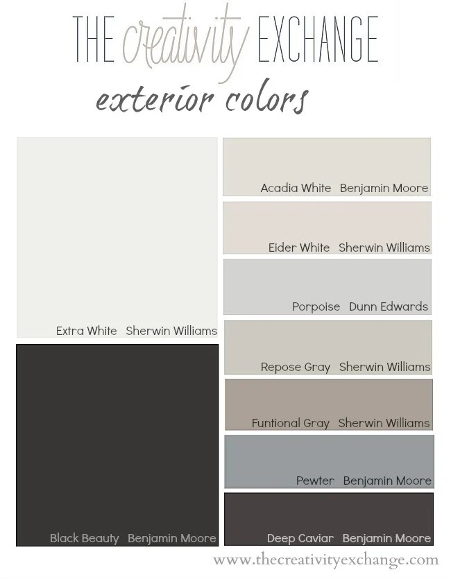 Tricks For Choosing Exterior Paint Colors