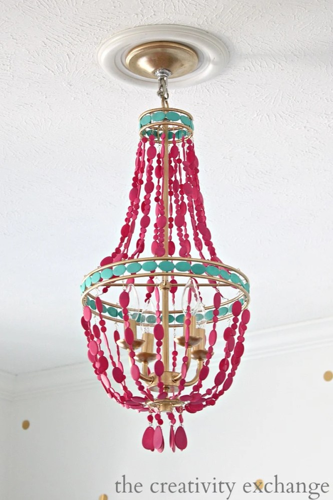 Tutorial For Painting A Lowes 79 00 Empire Chandelier The Creativity Exchange