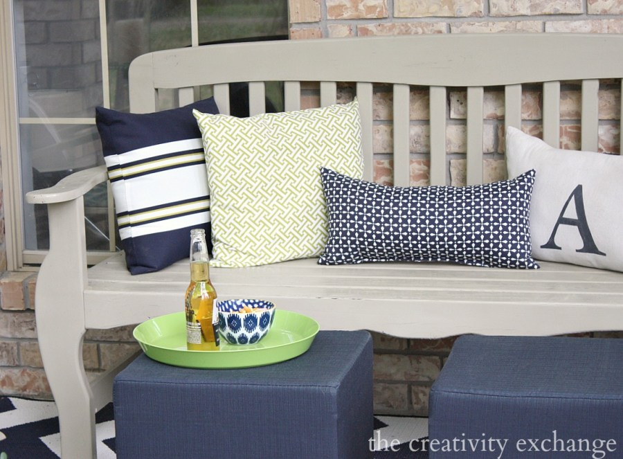 Front porch revamp  The Creativity Exchange