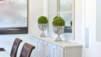 DIY Hidden Buffet Storage Piece Dining Room Update