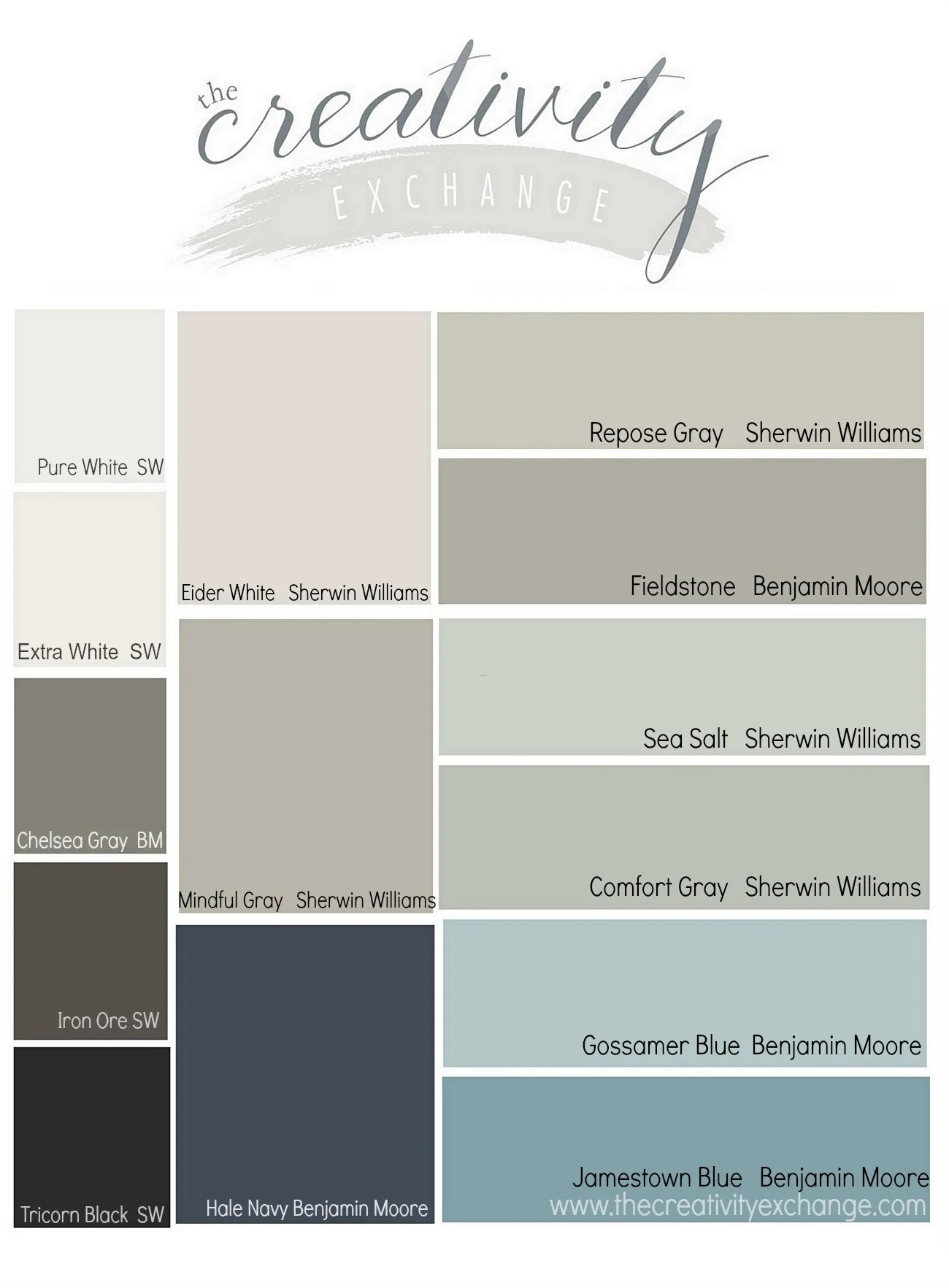 Merveilleux Results From The Reader Favorite Paint Color Poll