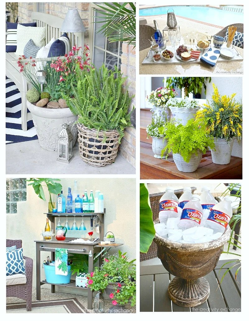 Creative ideas for outdoor landscaping, decorating and entertaining. The Creativity Exchange