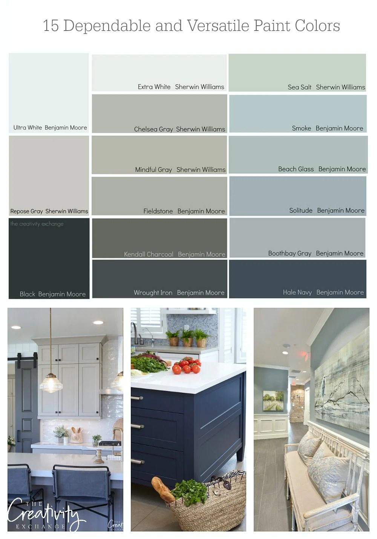 dependable paint colors
