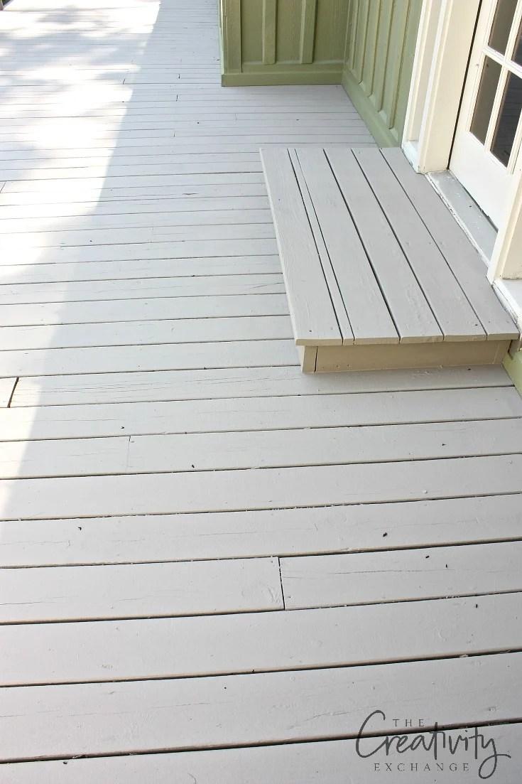 Best deck paints to use that last.