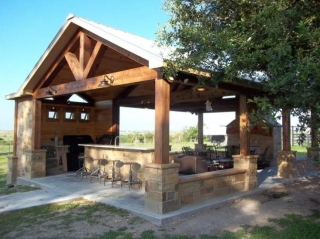 Creative Pergola Designs and DIY Options Outdoor Kitchen Pergola