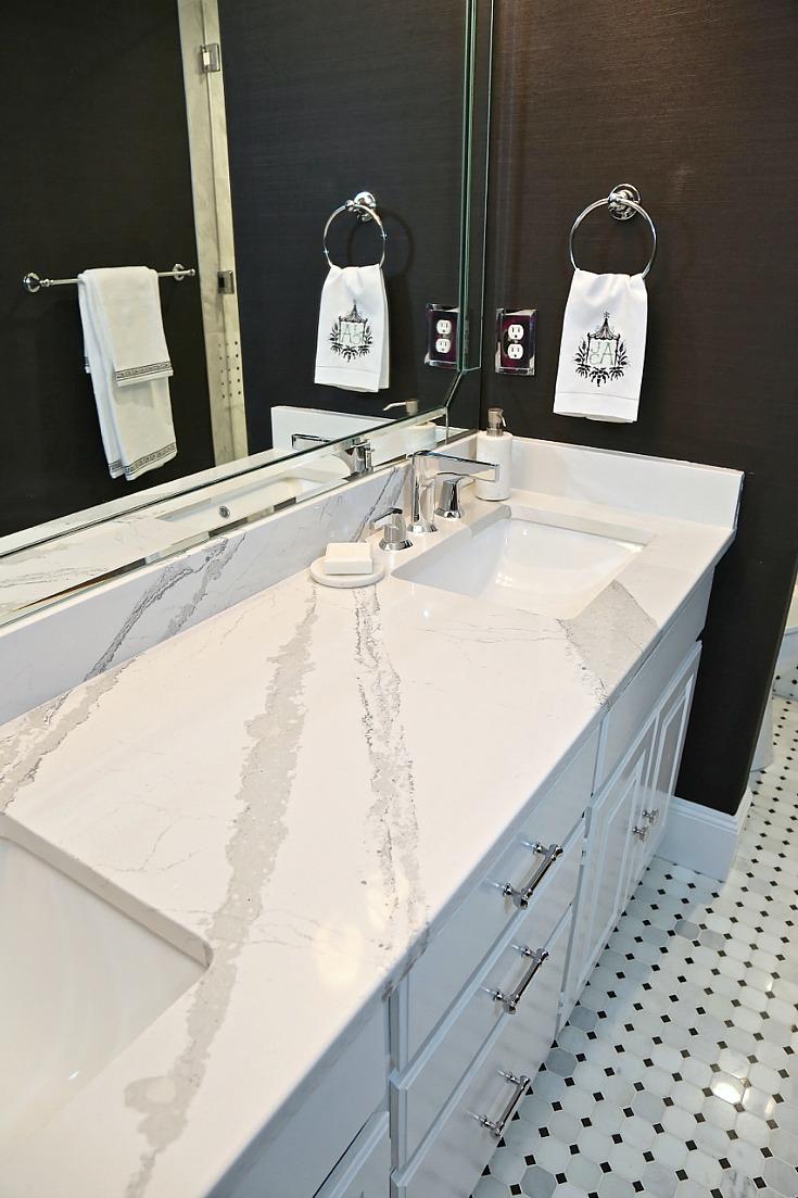 guest bathroom remodel reveal