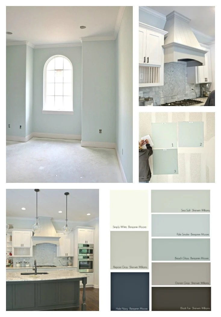 Interior paint schemes for whole house for Choose paint color scheme