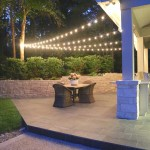 Quick Tips For Hanging Outdoor String Lights