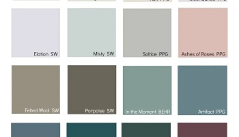 2019 Colors Of The Year