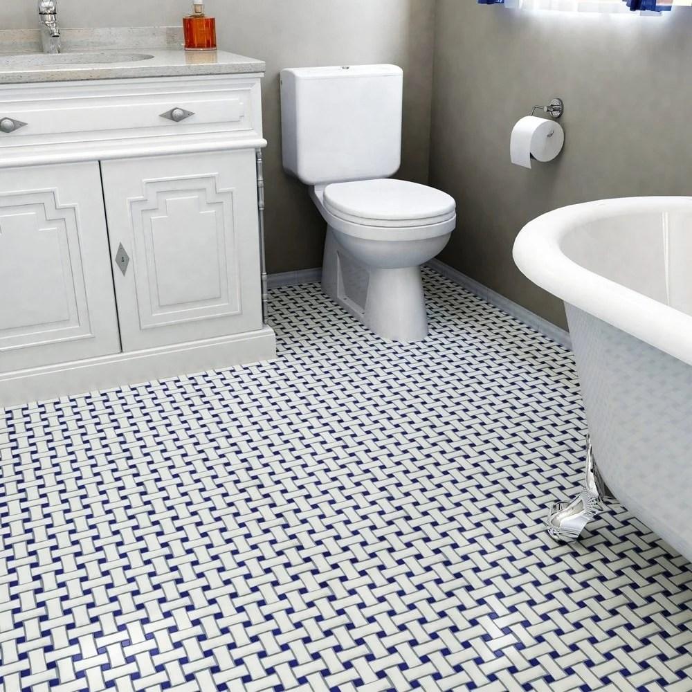 navy tile trend alert