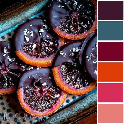 Color Inspiration | Candied Blood Oranges