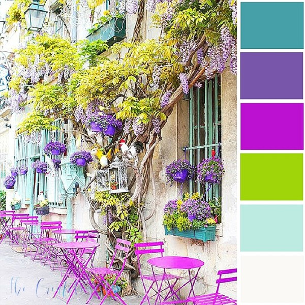 Color Inspiration | Summer Café