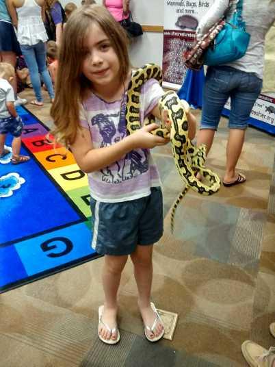 Jag the Carpet Python