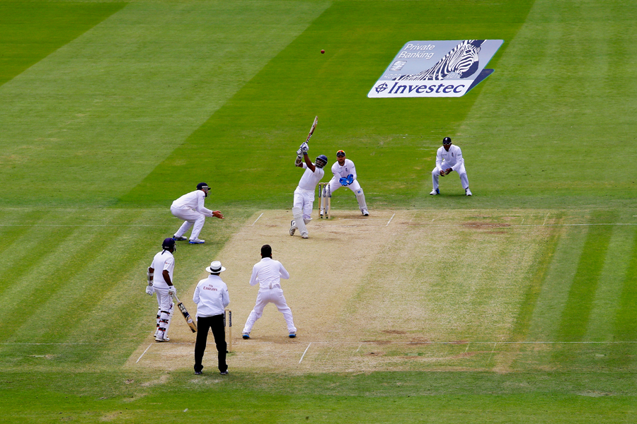 Lord's, 2014: neither the weight of occasion nor the sniping from the slips could shake his <i>nidanam</i>