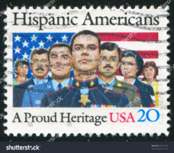 stock-photo-united-states-circa-stamp-printed-by-united-states-shows-hispanic-americans-circa-89312287