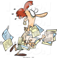 cartoon-stressed-out-red-haired-business-woman-carrying-and-dropping-documents-by-toonaday-1591