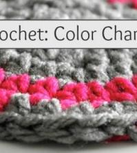How to Crochet: Color Change Tutorial