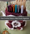 Free Crochet Pattern: Mad Hook Organizer