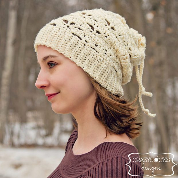 Lindsay Slouch Convertible Cowl - Hat crochet pattern by Danyel Pink Designs