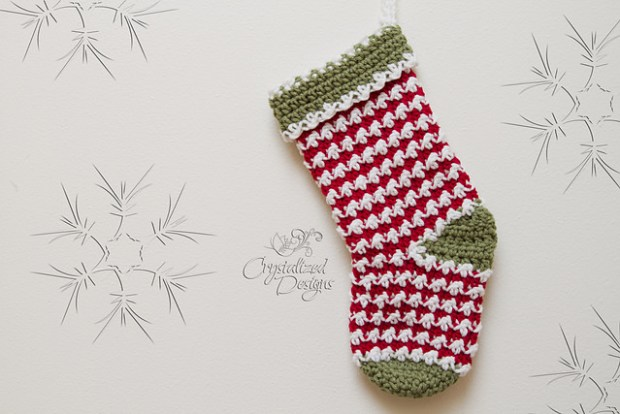 Comet Stocking by Crystalized Designs