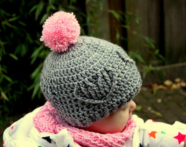 Heart Cable Hat by A la Sascha