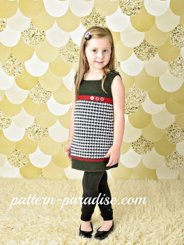 Houndstooth Jumper by Pattern Paradise