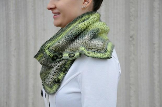 Laura Wrap and Cowl by Sincerely Pam