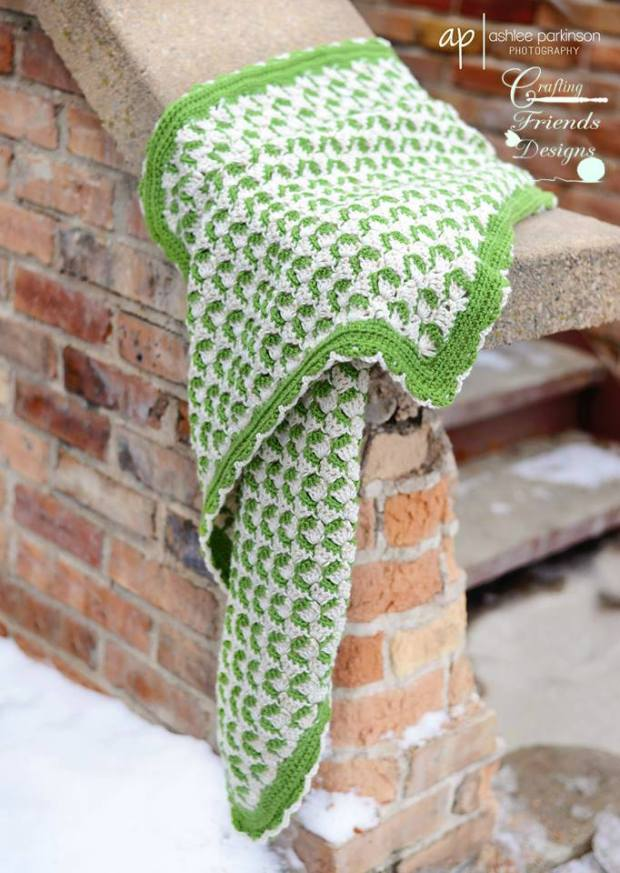 Ribbon Candy Afghan by Crafting Friends designs