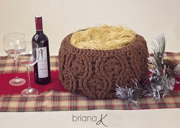 Vintage Basket by Briana K Crochet
