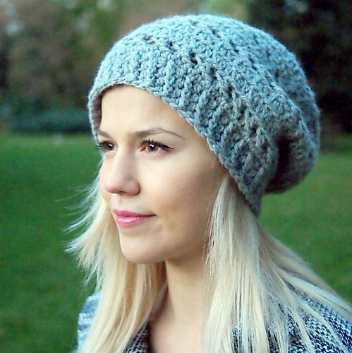 X stitch Slouchy Hat by Accessorise