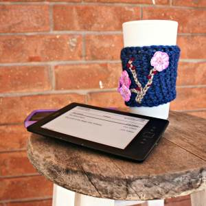 Charming Cherry Blossom Drink Sleeve by Lisa Jelle