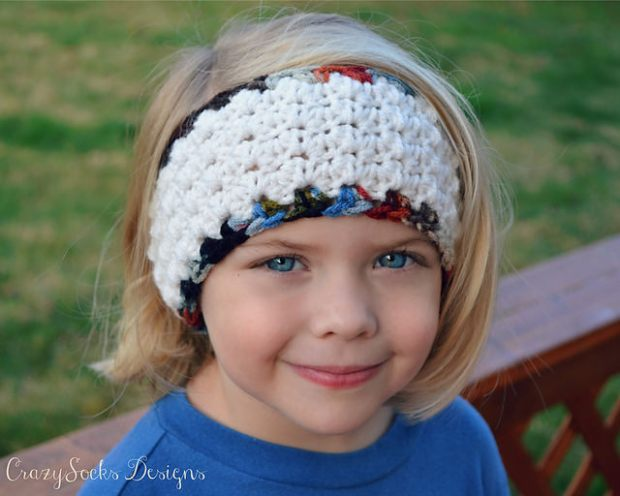 Amelia headband by Danyel Pink Designs