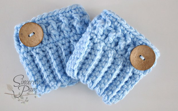 Chunky Boot Cuffs by Sincerely Pam