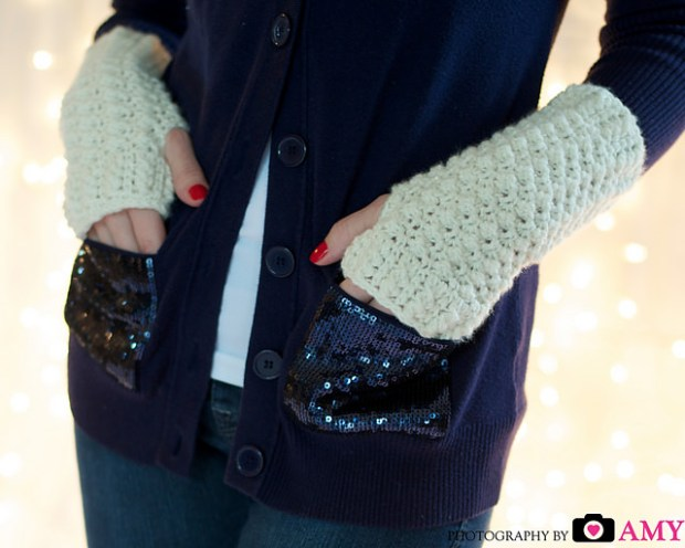 Glamour Gloves by Frayed Knot