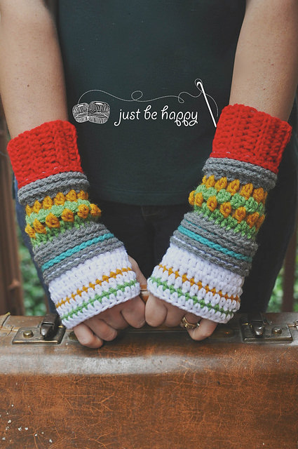 Hop Skip  Jump Mitts by Just Be Happy Patterns