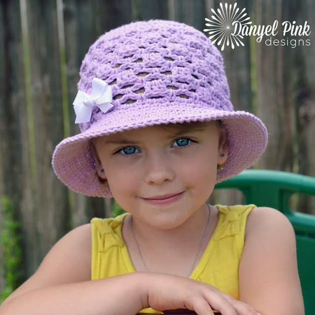 Lady Mary Sun Hat by Danyel Pink Designs