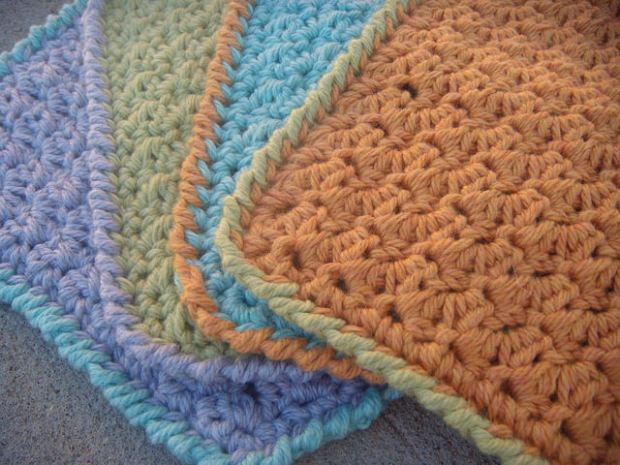 Oh So Soft Baby Washcloths by UnravelMe